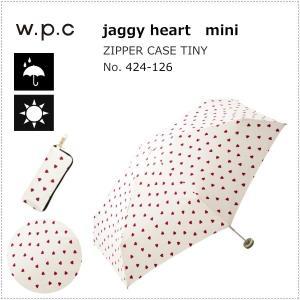 wpc 折りたたみ傘 晴雨兼用傘 ジャギーハート mini 424-126 OF ワールドパーティー|centas