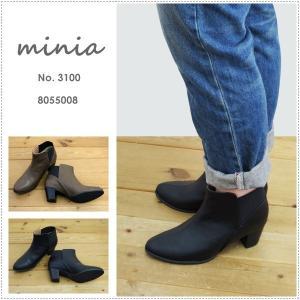 セール minia ミニア バックゴアブーツ 8055008|centas