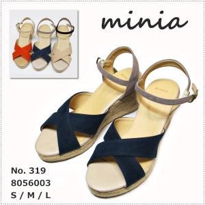 セール minia ミニア クロスサンダル 319|centas