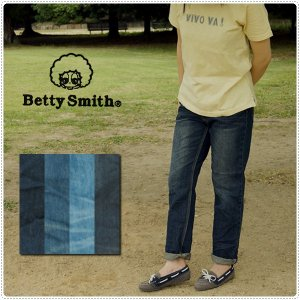 完売 Betty Smith ベティスミス デニムテーパードパンツ BAB1102  8874022 レディース|centas