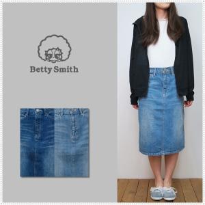 Betty Smith ベティスミス デニムひざ丈スカート BAB3049 8875009 レディース   デニムスカート 膝丈|centas