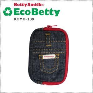 エコベティ Betty Smith ベティスミス デニムコインケース(BS)  KOMO139 |centas