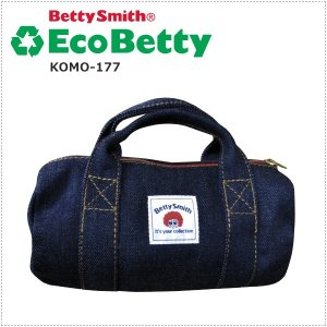 BettySmith エコベティ ミニボストンポーチ KOMO177 ベティスミス|centas