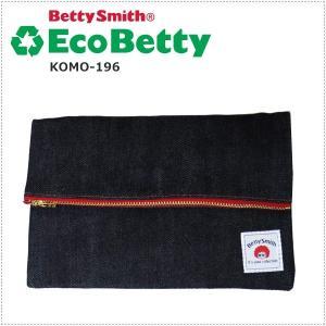 BettySmith エコベティ ミニクラッチバッグ KOMO196 ベティスミス|centas