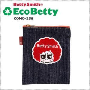BettySmith エコベティ ミニポーチ(四角) KOMO256 ベティスミス|centas