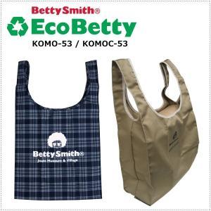 BettySmith エコベティ ベティーちゃんエコバック KOMO53 ベティスミス|centas