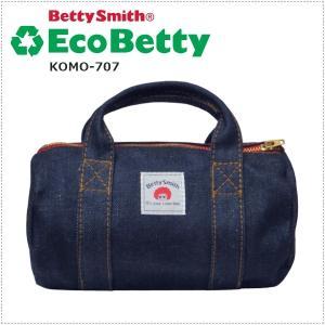 BettySmith エコベティ ミニボストンポーチ KOMO707 ベティスミス|centas