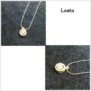 Loato(ロアトゥ) ネックレス 天然石 ジルコニア|centas
