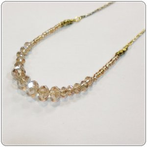Loato(ロアトゥ)ネックレス カットガラス LMUJ102|centas
