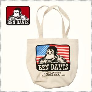 BEN DAVIS ベンデイビス キャンバス トートバッグ  BDW-9101|centas