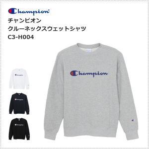 チャンピオン  ロゴプリント クルーネック スウェットシャツ  C3-H004|centas