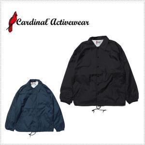 Cardinal Activewear ナイロンコーチジャケット CR321|centas