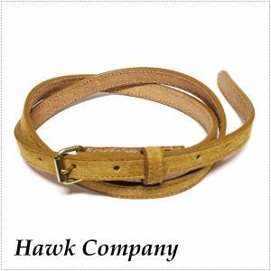 Hawk Company ホークカンパニー 細 スエード ベルト 1332 HK1332|centas