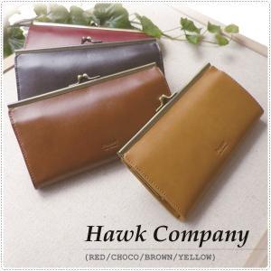 Hawk Company ホークカンパニー がま口ロングウォレット がま口財布  長財布 HK3388|centas
