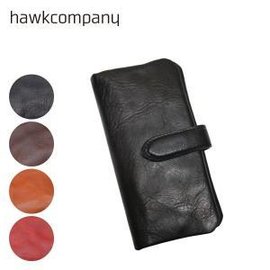 Hawk Company ホークカンパニー 二つ折り ロング ウォレット イタリアンレザー 3418|centas