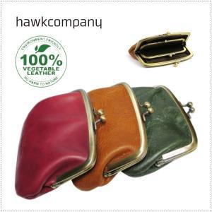 Hawk Company ホークカンパニー イタリアンレザー がまぐち 財布 HK3428|centas