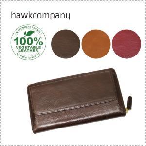 Hawk Company ホークカンパニー イタリアンレザー ラウンドファスナー ロングウォレット HK3431|centas