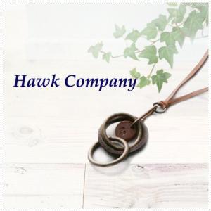 Hawk Company ホークカンパニー 3連 リング 輪 丸 モチーフ ネックレス 5133 |centas