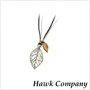 Hawk Company ホークカンパニー ネックレス 葉 リーフ HK5407|centas