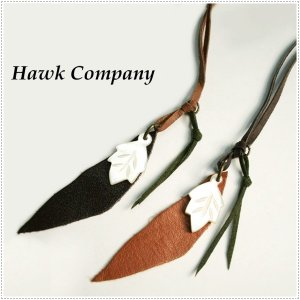 Hawk Company ホークカンパニー リーフモチーフ シェルネックレス 5440|centas