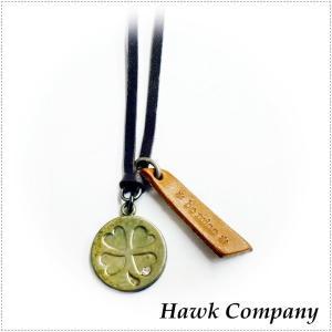 Hawk Company ホークカンパニー ネックレス ハート 四つ葉 クローバー 丸 HK5472 centas