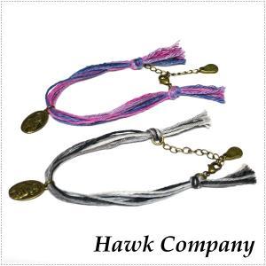 Hawk Company ホークカンパニー ヘンプコットンブレスレット HK6065|centas