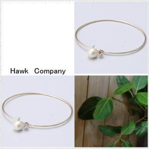 Hawk Company ホークカンパニー コットンパール ビジュー ブレスレット HK6082|centas