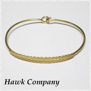 Hawk Company ホークカンパニー 羽 フェザーブレスレット HK6109|centas