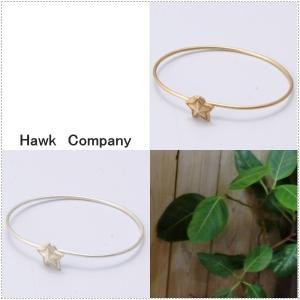 Hawk Company ホークカンパニー スター 星モチーフ ブレスレット HK6129|centas