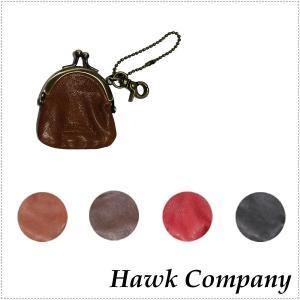 Hawk Company ホークカンパニー がま口 財布 キーホルダー HK6256|centas