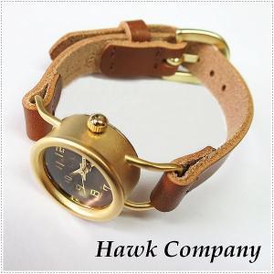 Hawk Company ホークカンパニー リストウォッチ 6430 HK6430 腕時計 本革 レディース|centas