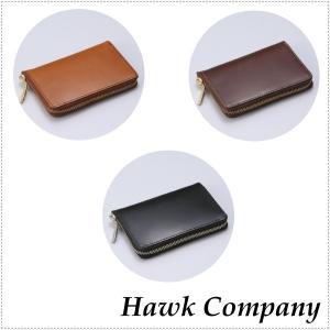 Hawk Company ホークカンパニー 二つ折りレザーウォレット  HK7207|centas