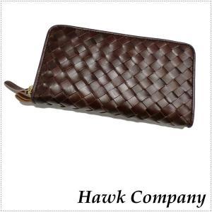 Hawk Company ホークカンパニー ロング ウォレット イタリアンレザー 7223|centas