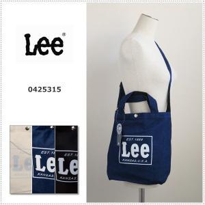 Lee  リー コットン キャンバス 2WAY トート|centas