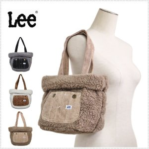 Lee リー ボア オーバーオール ポケット ミニトートバッグ|centas