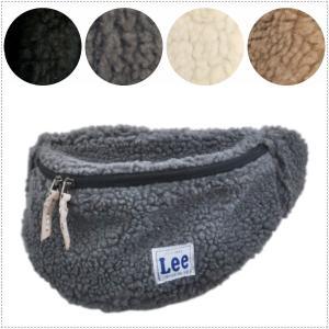 Lee リー ボア ウエストポーチ ボディバッグ ポシェット|centas