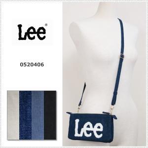 Lee  ロゴ サガラ刺繍 ショルダーバッグ サコッシュ|centas