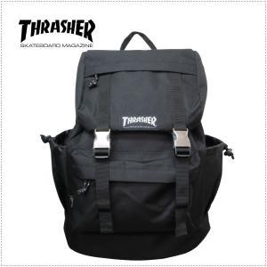 THRASHER THRRM501 メタルバックル デイパック 男女兼用 バックパック リュックサック スクールリュック スクールバッグ centas