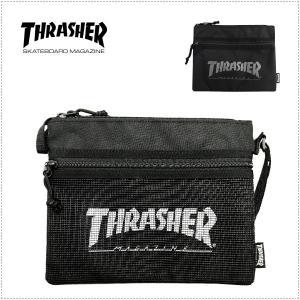 THRASHER THRSG114 サコッシュ・ミニショルダーバッグ|centas