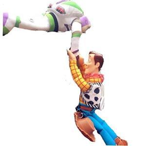 トイストーリー Toy Story ウッディー& バズ Woody&Buzz フィギュア 人形 ステ...