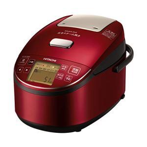日立 炊飯器 5.5合 圧力&スチームIH ふっくら御膳 日本製 打込鉄釜 蒸気カット RZ-BV1...