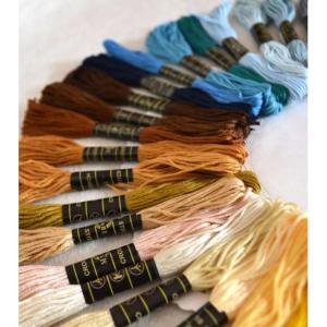 送料無料 刺繍糸 100束セット 大容量 刺繍 ししゅう クロスステッチ ミサンガ 裁縫 手芸 糸 ソーイング cente 04