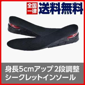 送料無料 シークレットインソール 衝撃吸収 中敷き 靴ケア用品 身長アップ インソール|cente