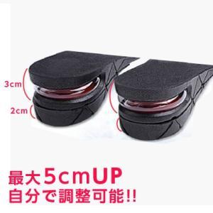 送料無料 シークレットインソール 衝撃吸収 中敷き 靴ケア用品 身長アップ インソール|cente|02