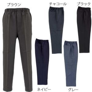 イージー らくらくスラックス風 パンツ シニアファッション メンズ 70代 80代 90代 服 衣料 高齢者 紳士 父の日 敬老の日 プレゼント 介護|center-urashima