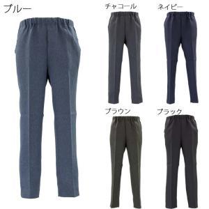 紳士 シニアファッション 日本製 らくらくウエストゴム スラックス パンツ 股下68 介護 父の日 敬老の日|center-urashima