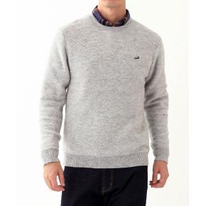 シニアファッション メンズ 70代 80代 90代 クロコダイル クルーネック セーター 高齢者 お年寄り シニア 服 ファッション 秋 大きいサイズ 介護 父の日|center-urashima