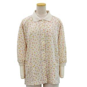 7分袖 前開き 涼感 スナップ ボタン ポロシャツ ラグラン袖 カーディガン 春夏 シニアファッション レディース 70代 80代 90代 服 衣料 高齢者 婦人 敬老の日 center-urashima