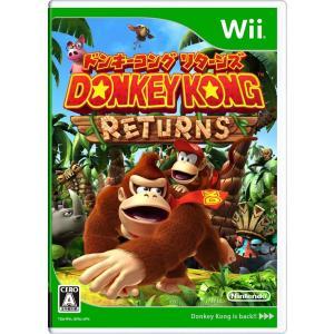 ドンキーコング リターンズ Wii 中古 外箱・説明書付き
