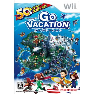 Wii GO VACATION ゴーバケーション 中古 外箱・説明書付き